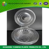 透過プラスチックによって蝶番を付けられるふたの容器、取得のためのサラダボール