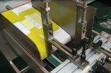 Aplicador plegable de alta velocidad de la escritura de la etiqueta del cartón