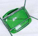 Напольный пластичный штабелируя стул металла (LL-0009)