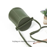 Верхний продавая мешок Hcy-A913 PU Crossbody повелительницы мешков отдыха ведра сумок кожаный
