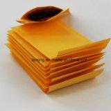 Luftblasen-Umschlag-Gelb-Farbe dokumentiert Beutel-Werbungen