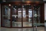 Porte coulissante incurvée par aluminium grand de luxe (BHA-DSA06)