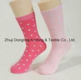 Fancy Lady DOT Jacquard Design Coton Happy Socks Chaussettes longues