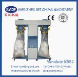 Máquina de la fibra de la perla y colector de dos pistas