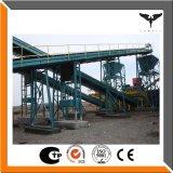 Steinzerkleinerungsmaschine-Sand, der Zeile durch China-Fabrik bildet