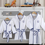 綿のフード付きの赤ん坊/子供の浴衣/パジャマ/Nightwear