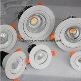 2016 2.5inch 7W beleuchten PFEILER LED Downlight, 70mm Unterbrecher LED unten