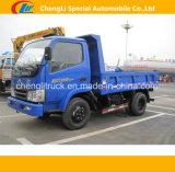Rhd LHD 6 Cbm 소형 덤프 트럭 12 톤 Foton