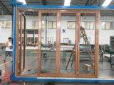 Алюминиевые внешние Bifold цены дверей патио двери/алюминия складывая