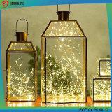 Alambre de cobre luces de cadena para Exterior, Casa, Gardon, Festvial