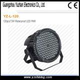 IP67 옥외 72pcsx3w RGBW는 LED 단계 동위 빛을 방수 처리한다