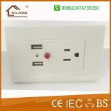 Сделано в выходах USB стенных розеток Pin Prc 3 электрических