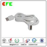 4pin 직업적인 주문 자석 USB 케이블 연결관
