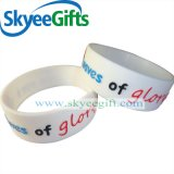 Wristband di gomma su ordinazione all'ingrosso del silicone del braccialetto del silicone dei Wristbands