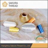 자수 뜨개질을 하기를 위한 Sakura 폴리에스테 또는 나일론 금속 털실