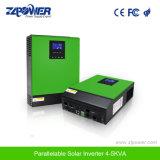 Эффективный инвертор 4-5kVA заряжателя N+X Parallelable солнечный