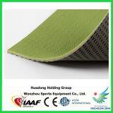 Couvre-tapis en caoutchouc de plancher de volleyball de gymnastique respectueuse de l'environnement de cour