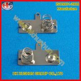Contatto della molla della batteria di timbratura del metallo per il caricatore (HS-BA-010)