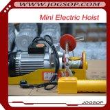 Промышленная электрическая лебедка веревочки провода поднимаясь оборудования
