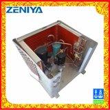 Bobina del condensatore dell'aletta del rame del tubo di rame di potere basso per l'unità esterna di CA