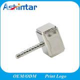 Clé de mémoire USB imperméable à l'eau en métal de disque de flash USB de marteau