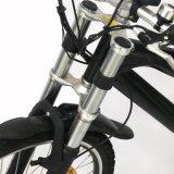 2017 новые Bike горы алюминиевого сплава подвеса передней вилки конструкции 48V 26 '' электрические/велосипед