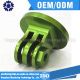 Fazer à máquina de alumínio do CNC anodização dourada/azul/verde do OEM