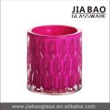 Tarro de cal sodada al por mayor del vidrio de la vela del color del aerosol