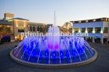 Acero inoxidable al aire libre Plaza Grande Salto Jets de la fuente de agua