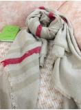 Lenço de imitação da caxemira das mulheres, lenço morno
