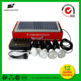 De zonne Verlichting van het Systeem van de Verlichting van het Huis omhoog 4 Zalen 6 Uren met de Batterij van het Lithium 5200mAh