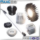 Perfil del aluminio del OEM/de aluminio del disipador de calor/del radiador de la protuberancia con RoHS/Ce/ISO/As2047/Aama