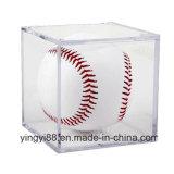 Cas d'exposition acrylique de base-ball de qualité superbe