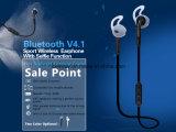 Fone de ouvido portátil longo de Bluetooth do esporte V4.1 do tempo à espera