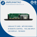 Placa audio do decodificador de FM MP3 (JRHT-102)