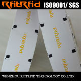 Etiqueta a prueba de calor de la prueba imprimible RFID del genio de la frecuencia ultraelevada