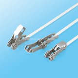 Serre-câble éonomiseur de temps d'acier inoxydable avec la boucle de bande de Rochet-Lokt