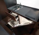 2016熱い台所家具の統合された食器棚