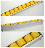Hairise Plástico de polietileno Strip deslizante Transportador ajustável Side Guide Rails