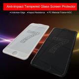 反影響のiPhoneのための耐衝撃性の緩和されたガラススクリーンの保護装置専門の工場からの7/7のプラス