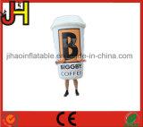 Kundenspezifisches aufblasbares Flaschen-Kostüm für das Bekanntmachen