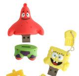 De Aandrijving van de Flits van de Baby USB van de Spons van pvc van de douane