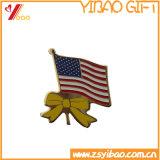깃발 모양 고품질 금속 기장 (YB-LY-LP-04)