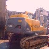 Origine dall'escavatore di Volvo utilizzato cingolo idraulico dell'usato del Sud Corea (EC210Blc)