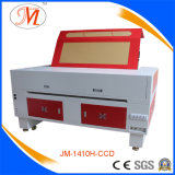 CCD que focaliza a máquina de estaca do laser para o bordado (JM-1410H-CCD)