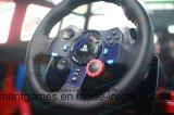 시뮬레이터 경주용 차 게임 기계 장비를 모는 실제적인 궤도 시뮬레이션 9d Vr