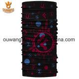 Bandana Headwear Microfiber печатание сублимации подарков рождества безшовный трубчатый красный