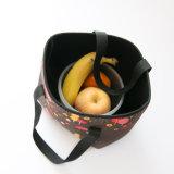 Bolso lavable impermeable del bolso del totalizador del almuerzo de Foof con la impresión