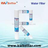 Cartuccia di filtro dall'acqua della ferita della stringa dei pp con la cartuccia di filtro dall'addolcitore dell'acqua
