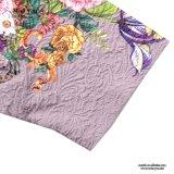 Alineada floral del Seersucker púrpura elegante del precio bajo de Srta. You Ailinna 801053-1